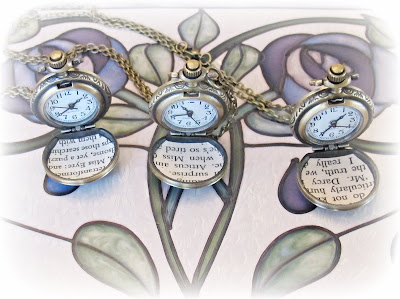 image pocketwatch two cheeky monkeys literature mr darcy jane austen pride and prejudice jane eyre charlotte bronte atticus finch harper lee to kill a mockingbird pocket watch jewellery jewelry accessories