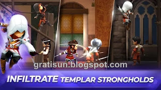 Assassin's Creed Rebellion Mod v2.3.0 Apk + OBB (Mega Mod)