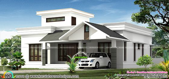 Low budjet single floor house