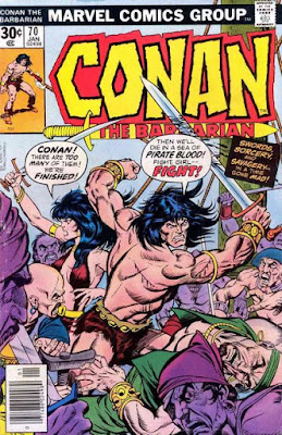 Conan the Barbarian #70, Belit