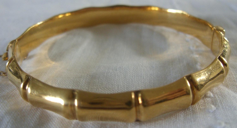 Bamboo Grove Photo Bamboo Gold Bracelet