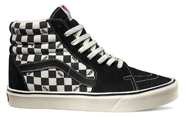 SK8-Hi Vans Black Check