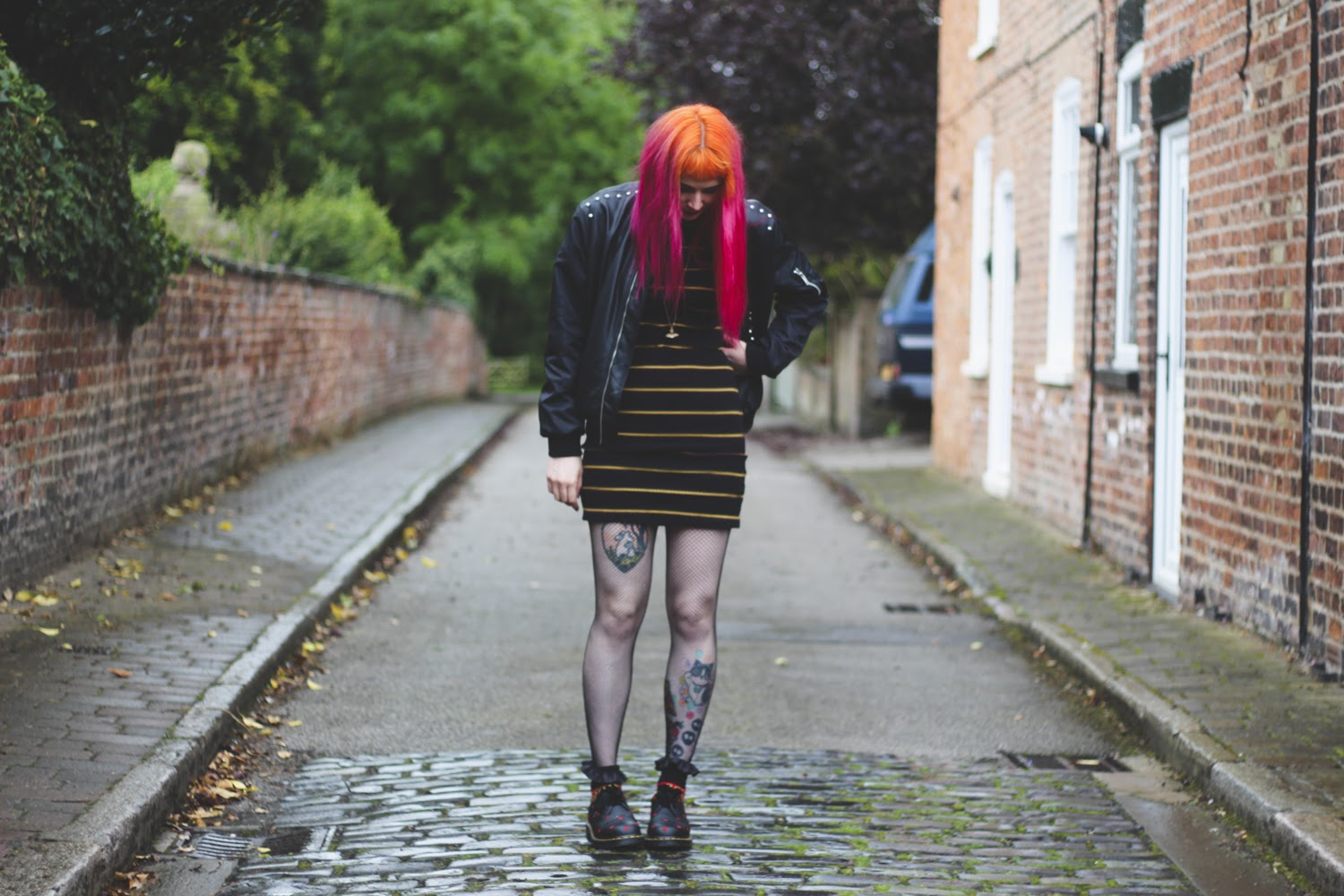 Alternative Style Blogger Foxxtailz in Zara