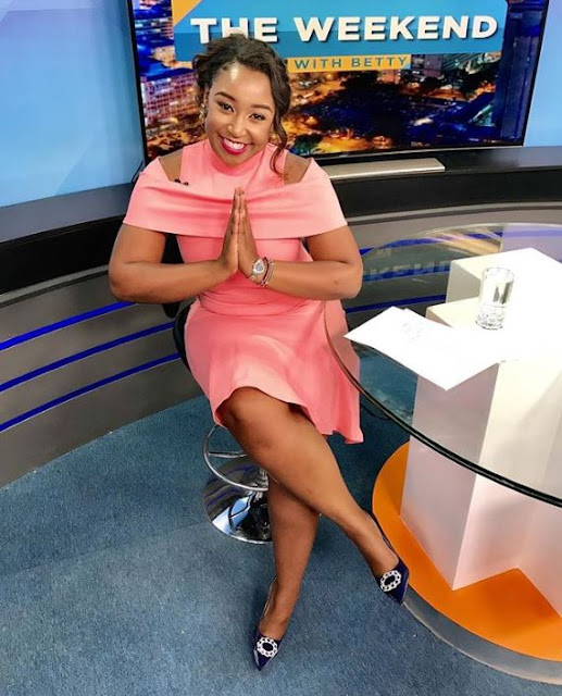 Bitter Betty Kyallo Uses Her Show To Blast Okari And Other Deadbeat Dads
