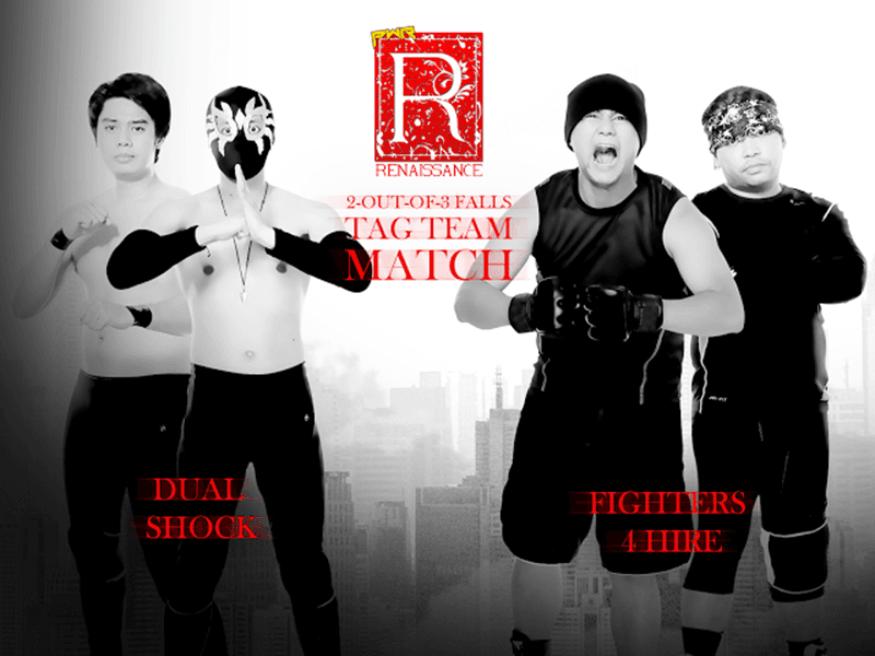 Philippine Wrestling Revolution (PWR) Presents Renaissance!