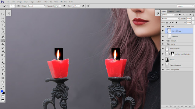 34 Design cover buku Novel dengan Photoshop CC part2