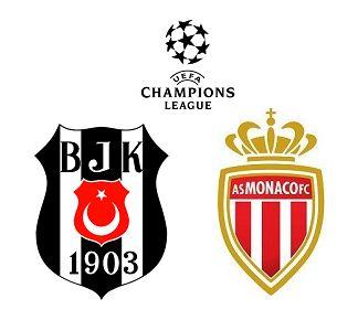 Besiktas vs Monaco match highlights