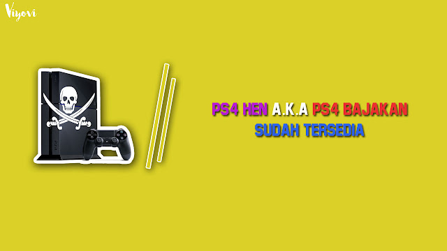 game ps4 dibajak