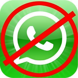 No al whatsapp