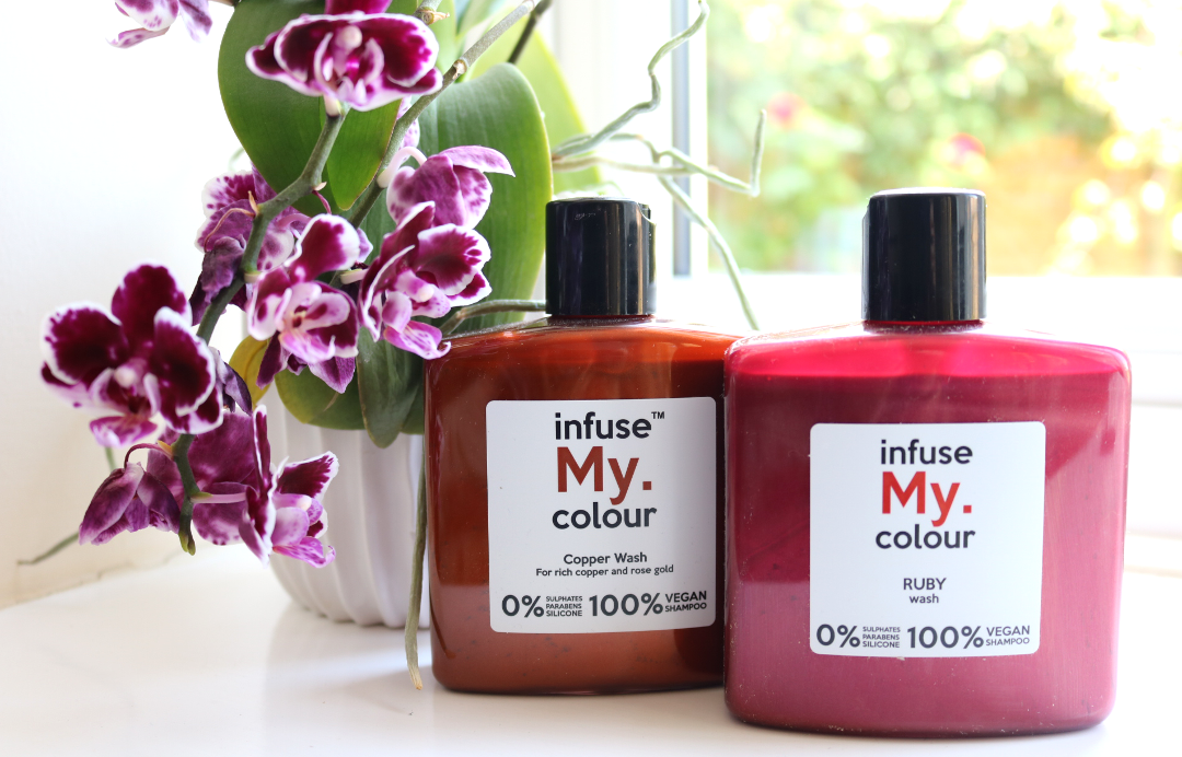 Infuse My Colour Copper & Ruby Wash review