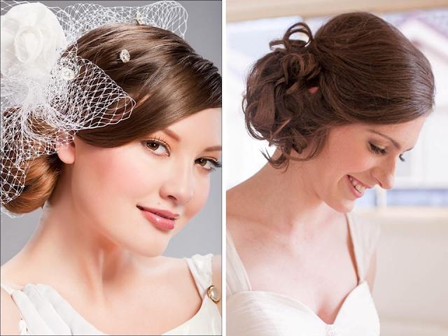 penteado coque diferente para noivas