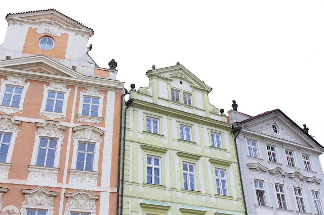 Pretty buildings, weekend in Prague, Czech Republic - travel and lifestyle blog