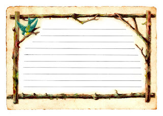 journaling spot digital bird branch illustration download