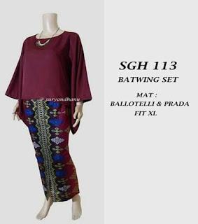 gambar model baju batik setelan