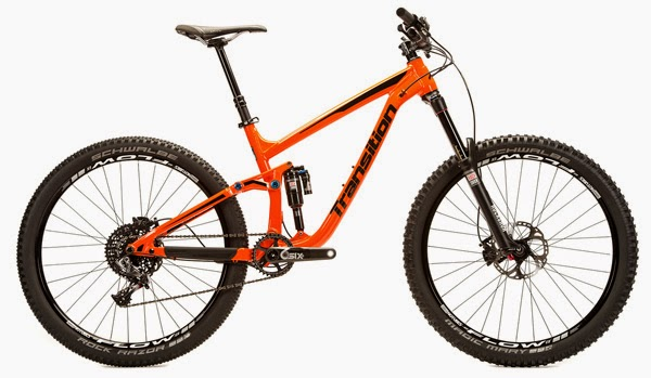 2015 Transition Bikes Patrol Safety Orange