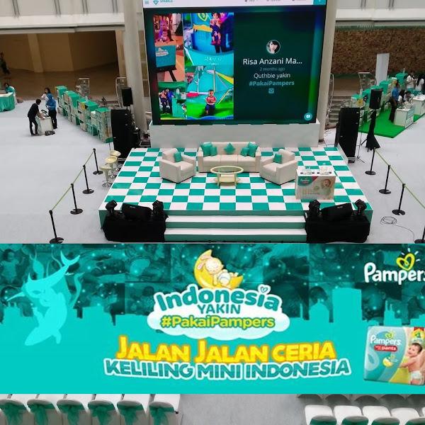 Indonesia Yakin #PakaiPampers Go To Surabaya: Perayaan Pampers untuk HUT Kota Pahlawan