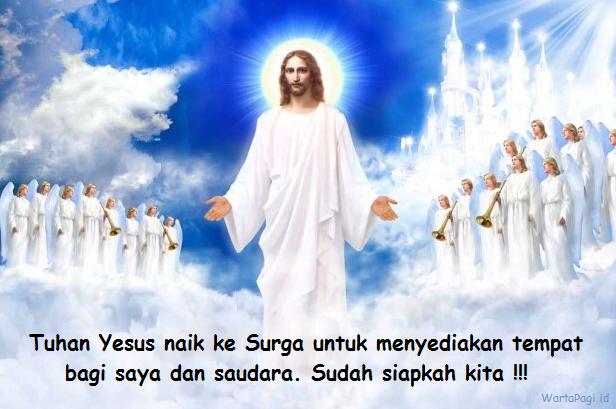 10 Gambar Kartu ucapan Kenaikan Tuhan Yesus ke Surga