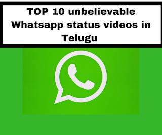 Whatsapp Status Videos in telugu Download Telugu (heart touching)