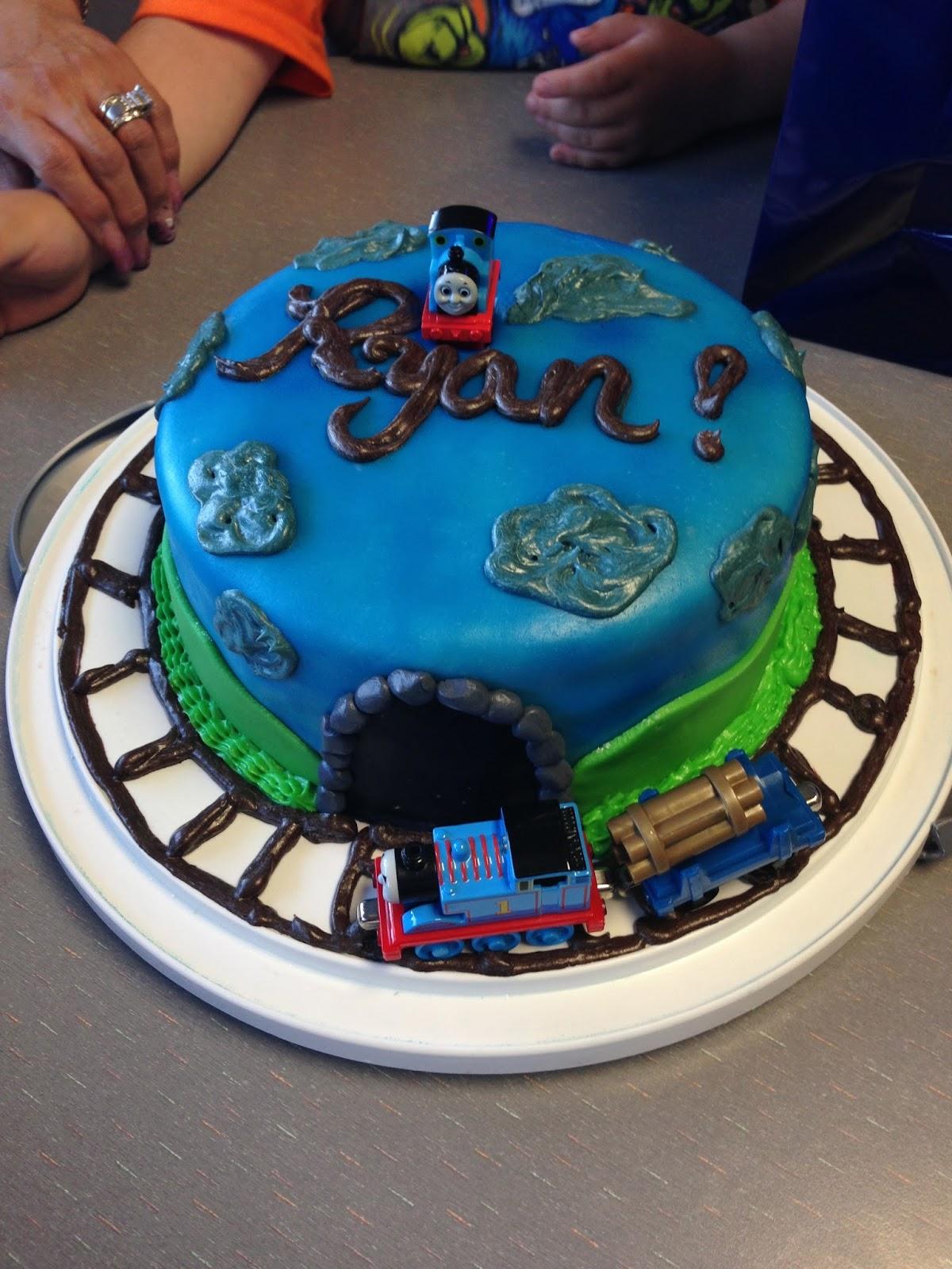 Sams Cute Cakes Thomas The Train Cake