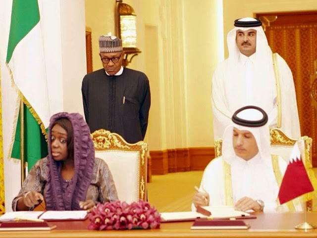 Islamic Intimidation: Buhari Force Minister of Finance Kemi Adeosun To Wear Haji in Qatar