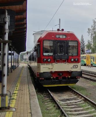 Wagon motorowy serii 843, České dráhy