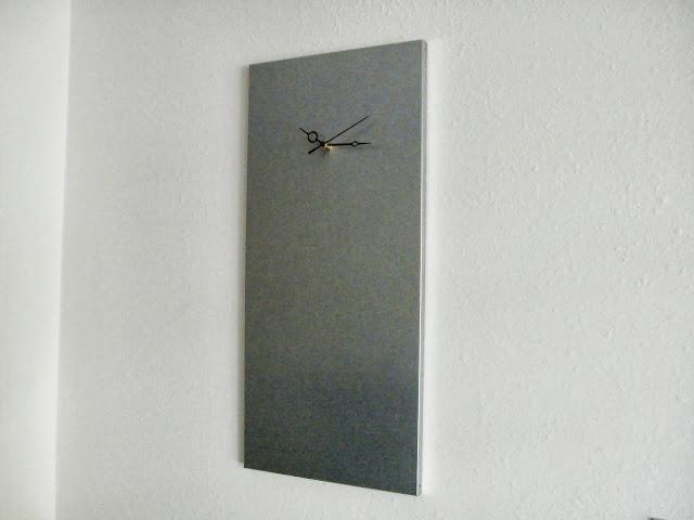 Industrial Modern Clock