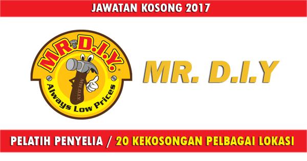 Pelatih Penyelia 2017 / 20 Kekosongan