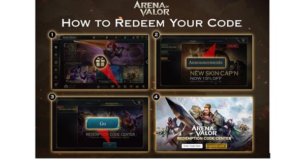 Cara Redeem Kode AOV