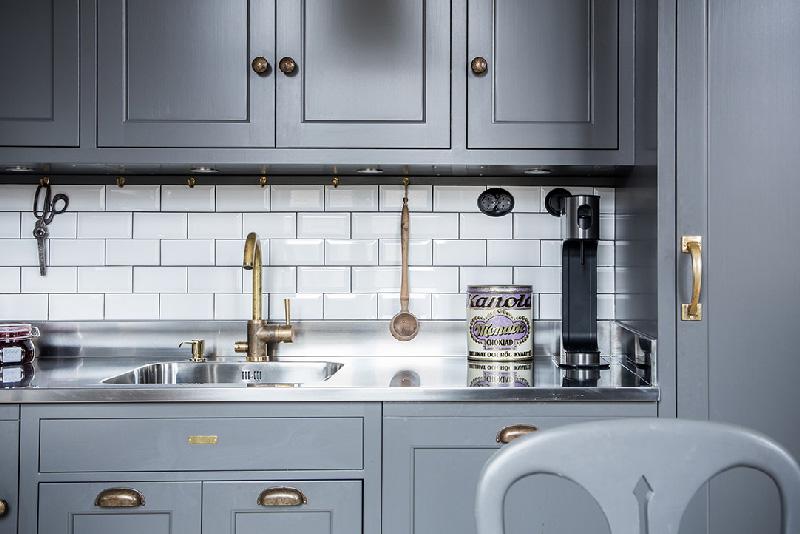 Arredare piccoli spazi 58 mq di pura eleganza a Goteborg cucina