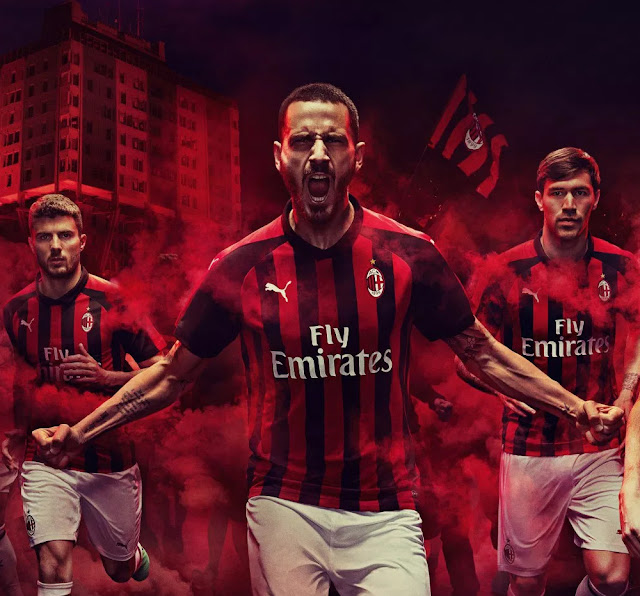AC Milan PUMA 2018/19 home Kit