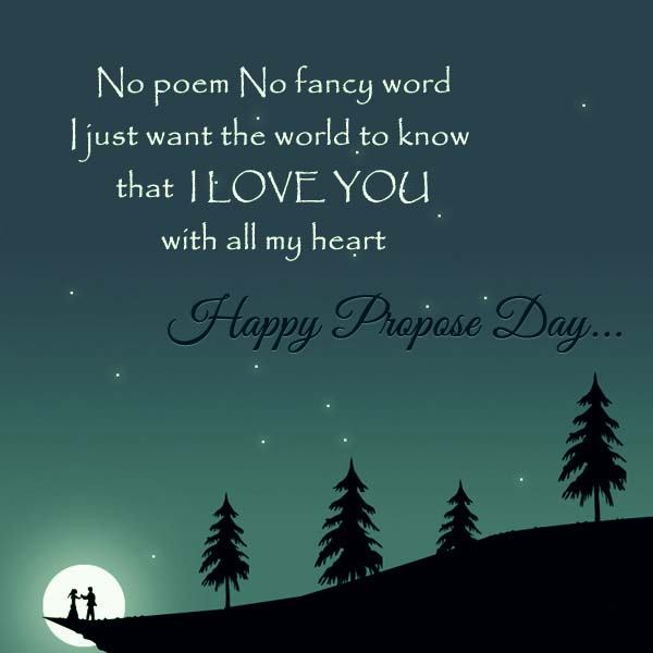 Proposal Quotes Stunning This Is Top 48 Happy Propose Day 48 Wishes Quotes Messages