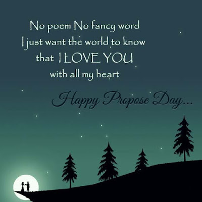 Happy Propose Day Quotes 2017