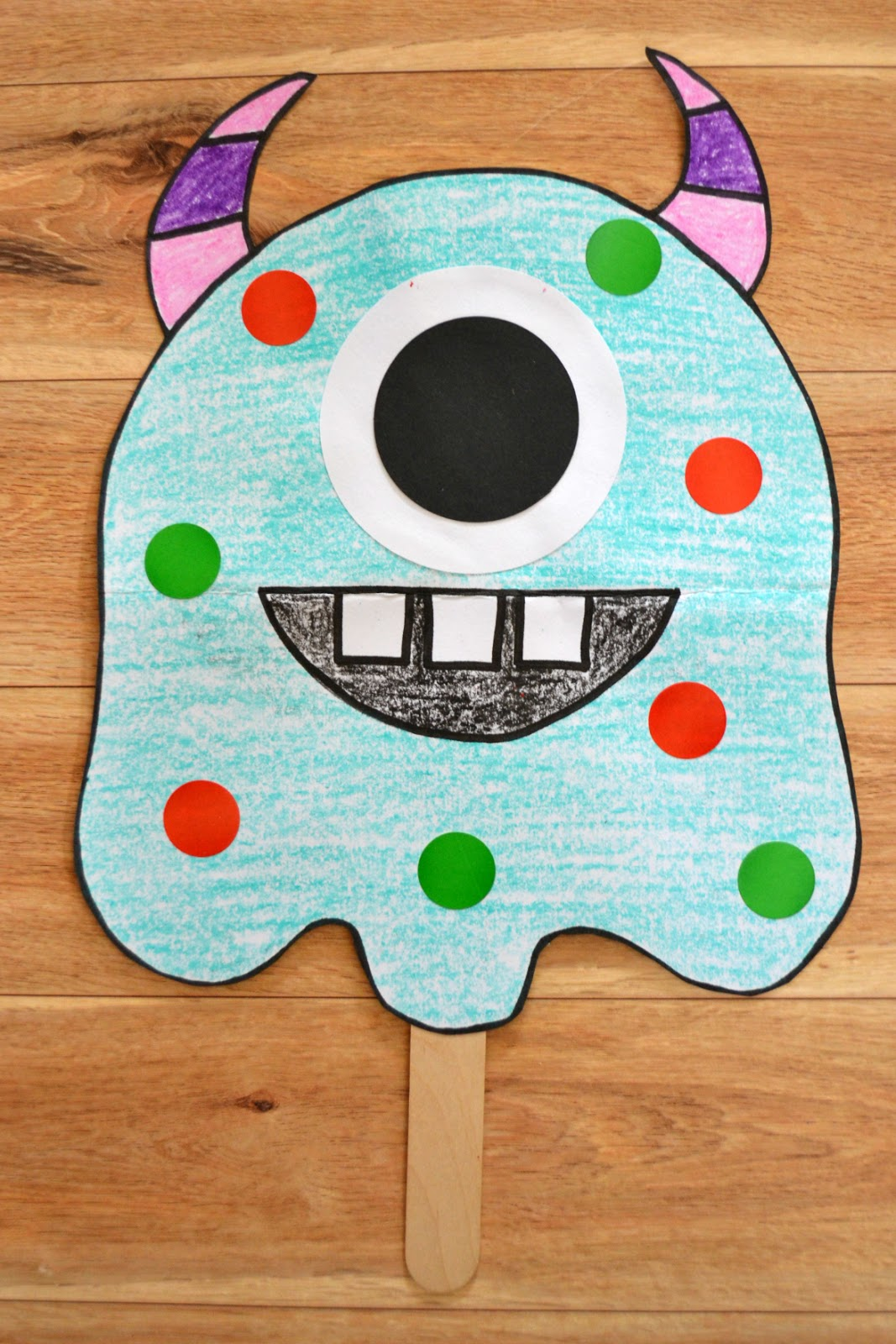 East Coast Mommy Monster Crafts For Preschoolers