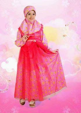 gambar Model Baju Muslim Anak Perempuan
