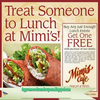 Free Printable Mimis Cafe Coupons
