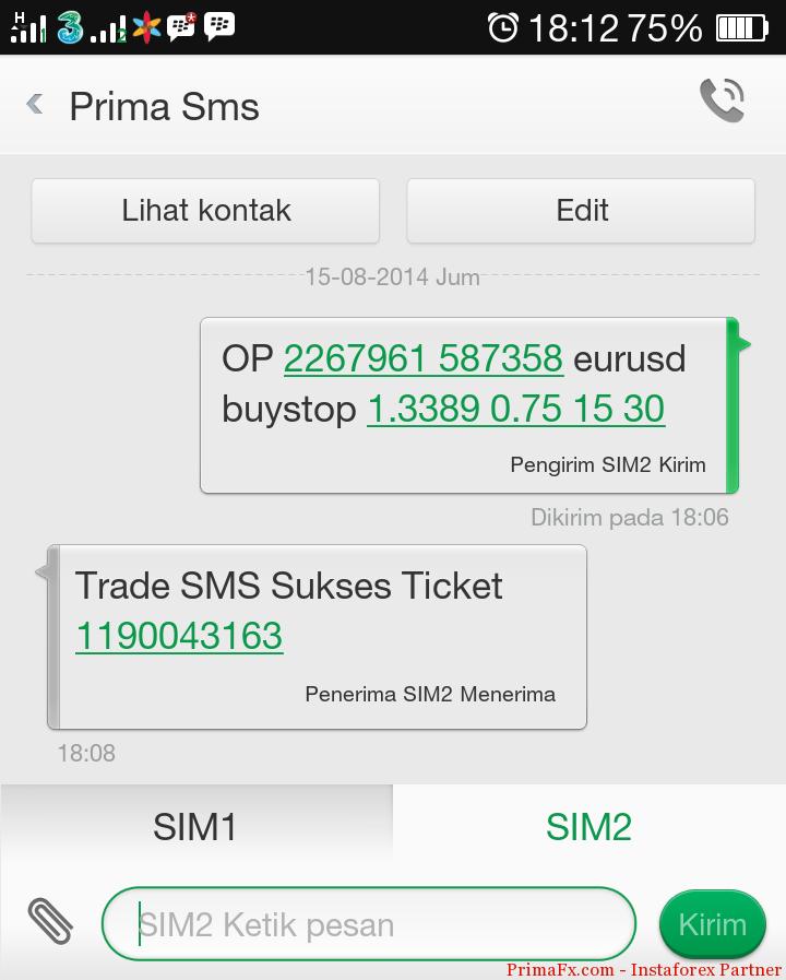 Free forex signals sms alert