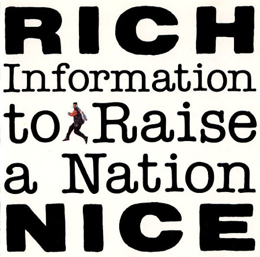Rich Nice - Information To Raise A Nation (CD-1990) 320