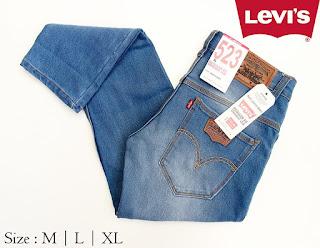 Celana Jeans Pria Levi's 523 Snowblue