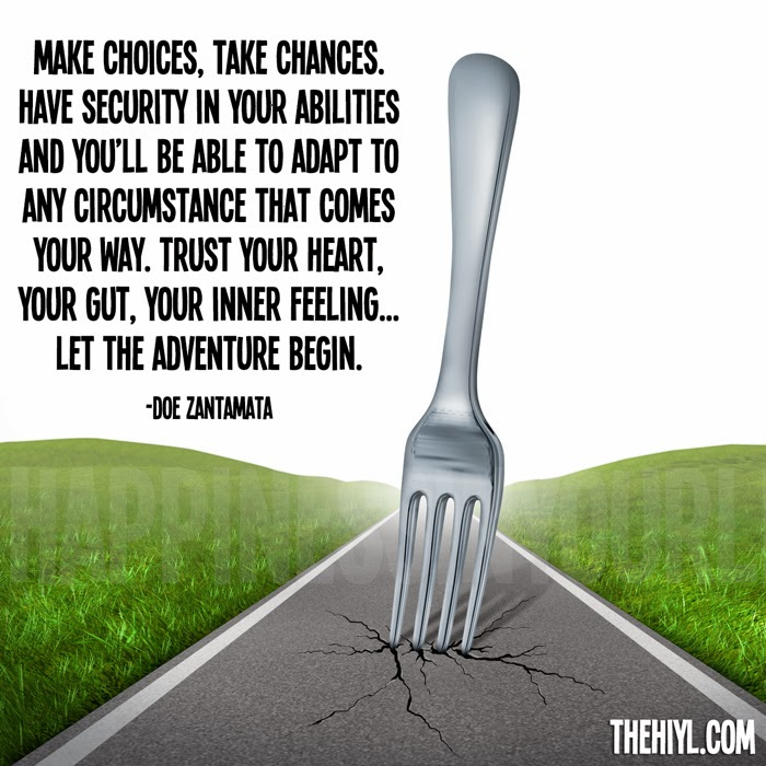 Fork In The Road Quotes | Quote Addicts