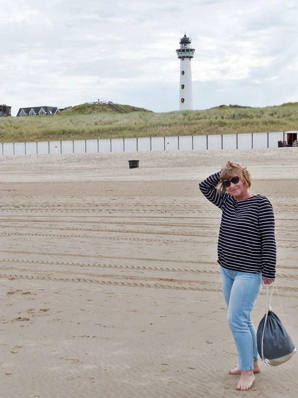 Strand und Leuchtturm Egmond aan Zee