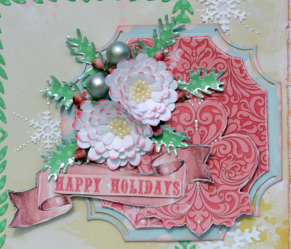 Holiday Card Ideas Featuring Carousel Christmas With Denise Bo