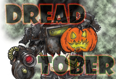 Dreadtober Logo by Todd @Sincain40k
