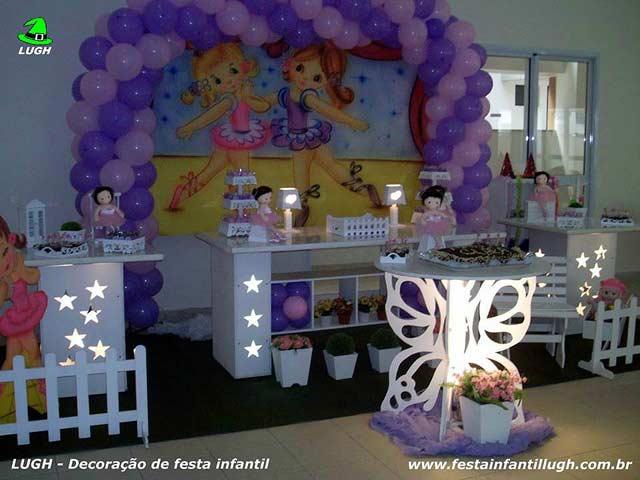 Decoração Bailarinas para festa de aniversário infantil
