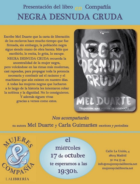 http://www.mujeresycialibreria.net/titulo/negra-desnuda-cruda/9788494787829/