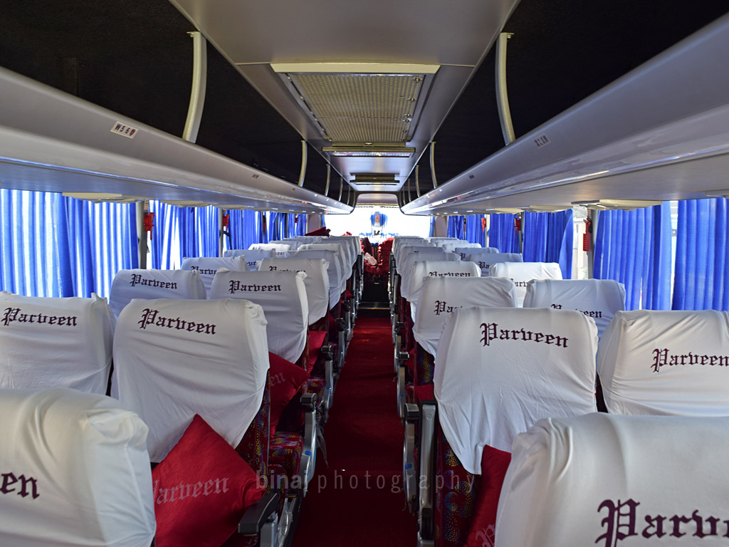 Going Green Chennai To Bangalore By Parveen Scania