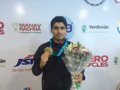 Saurabh Chaudhary Gold in ISSF Gold Cup