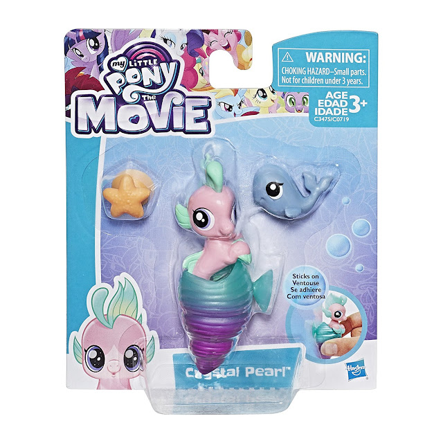 My Little Pony the Movie Crystal Pearl Baby Seapony