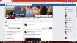 facebook friend list