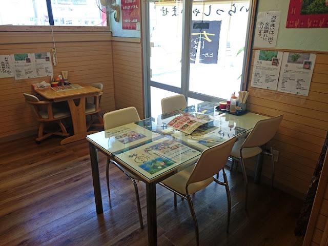 麺屋ちばとぉ~んどの店内の写真
