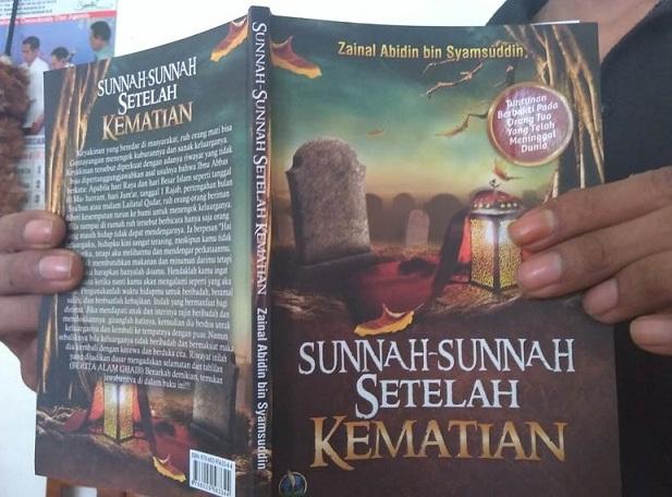 """buku """"Sunnah-Sunnah Setelah Kematian"""" didemo oleh warga NU"""